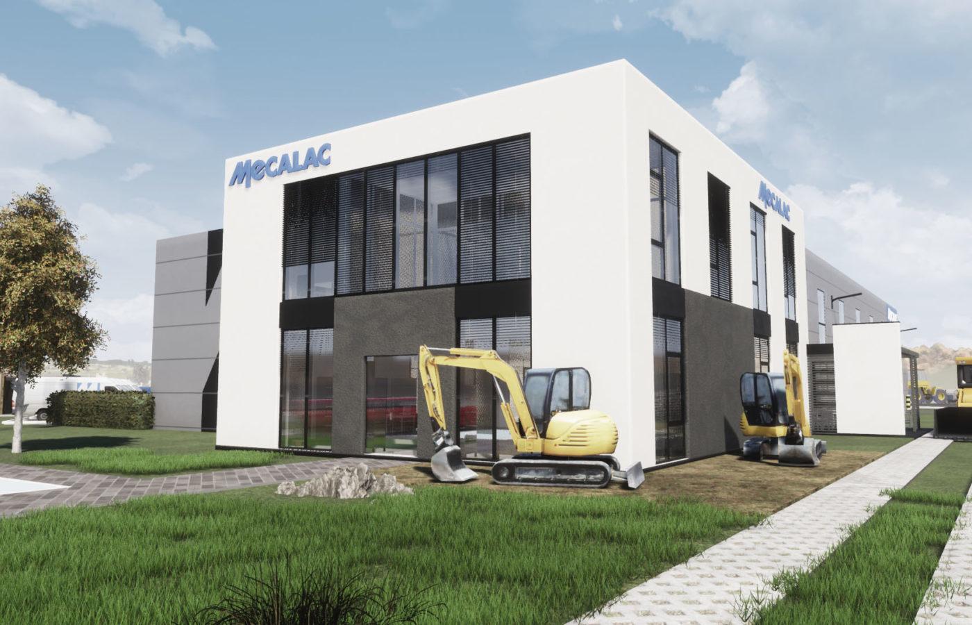 Mikołów – MECALAC Polska – Siedziba firmy